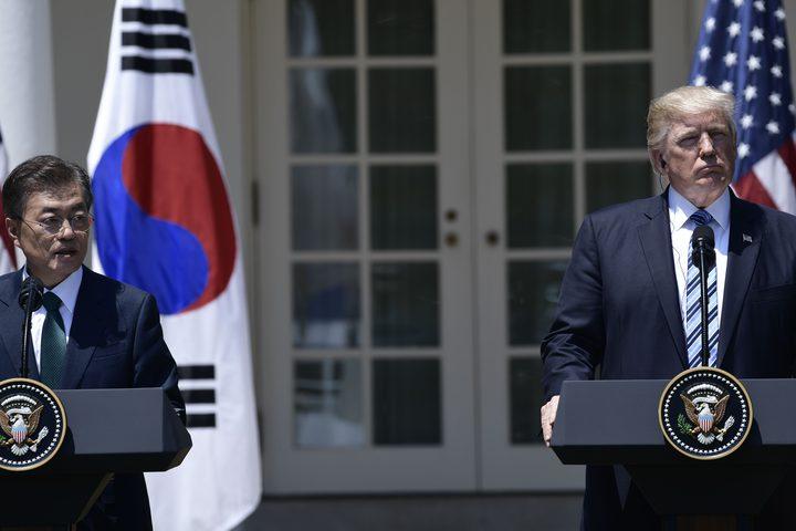 ترامب: عهد الصبر مع نظام كوريا الشمالية نفذ