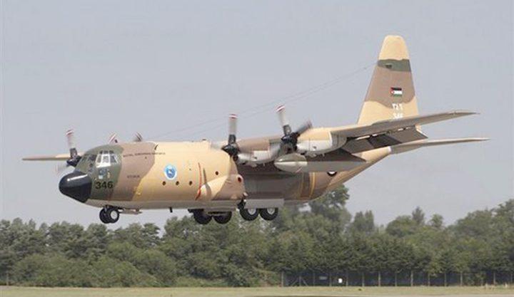 سقوط طائرة استطلاع أردنية