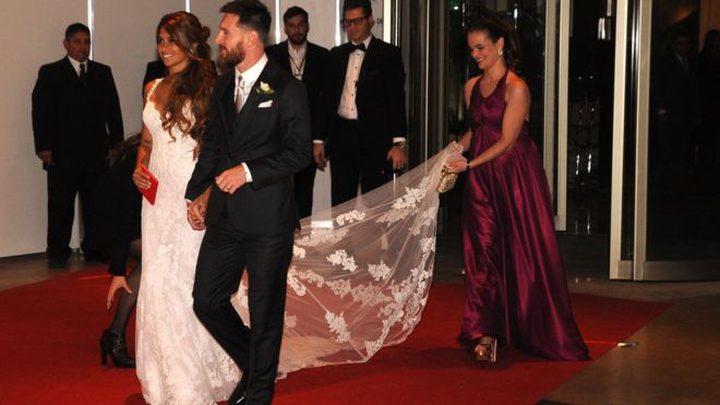 ميسي يقيم حفل زفاف أسطوري (صور)