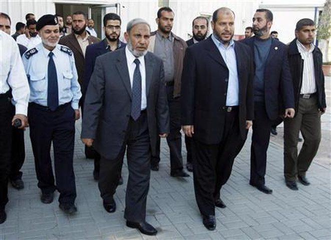 وفد حمساوي يتوجه إلى مصر لتنفيذ ما اتفق عليه
