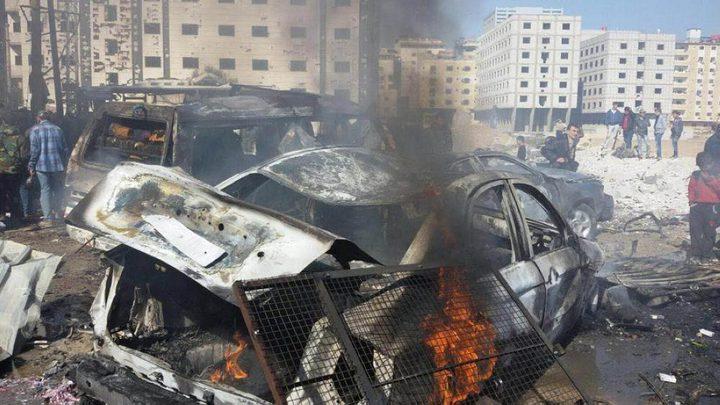تسعة قتلى في تفجير شرق دمشق