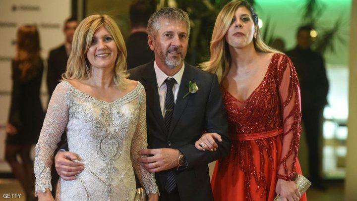 """تصرف """"صادم"""" من والدة ميسي بحفل زفاف ابنها"""