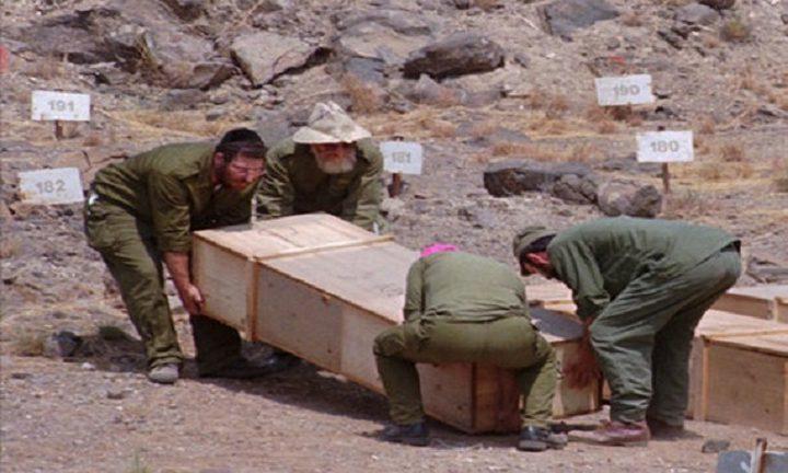 إسرائيل تجري فحوصات DNA لعائلات شهداء بمقابر الأرقام