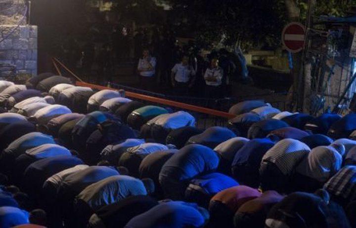 بيت لحم: الاحتلال يقمع المصلين ويصيب عدداً منهم