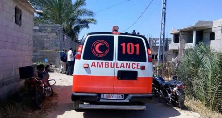 مصرع مواطن سقط من علو في خان يونس