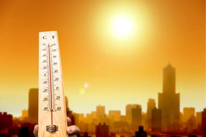 الطقس: درجات الحرارة أعلى من معدلها بحدود (5) درجات
