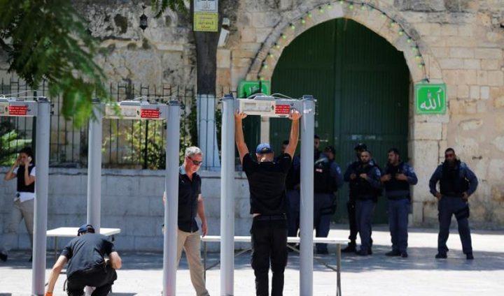 الاحتلال يحاول بسط سيادته على المسجد الأقصى.