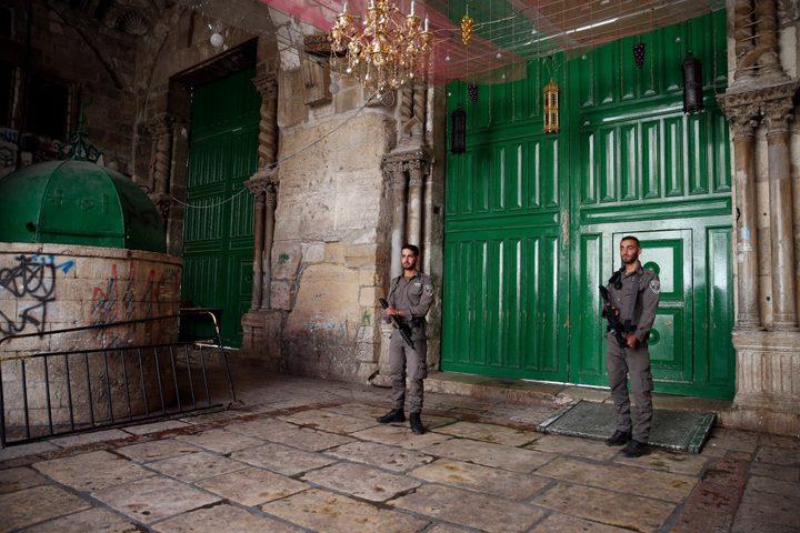 الاوقاف الاسلامية: سيتم فتح كل الابواب للمسجد ووقف تحديد الاعمار الان
