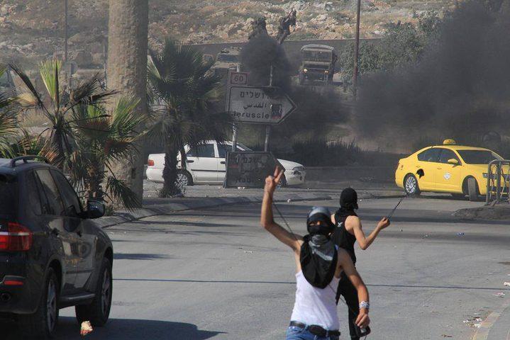 اصابتان برصاص الاحتلال في الرام احداهما خطيرة