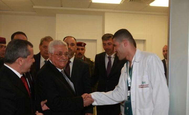 فحوصات طبية اعتيادية للرئيس في 'الاستشاري' برام الله