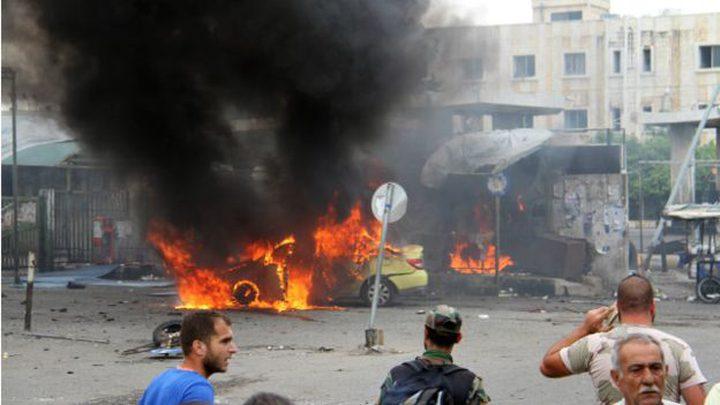 قتلى وجرحى في تفجير انتحاري في ريف حلب الجنوبي