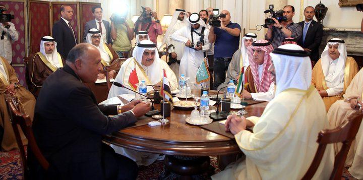 وزراء دول المقاطعة لقطر يجتمعون بالمنامة اليوم