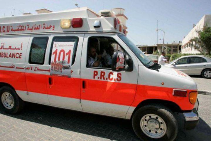 ثلاث إصابات بحادث سير في نابلس