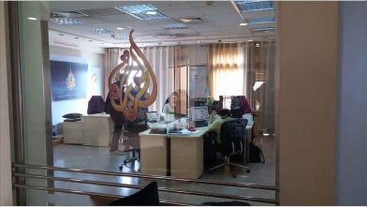 الاحتلال يبحث في اغلاق مكتب الجزيرة في القدس