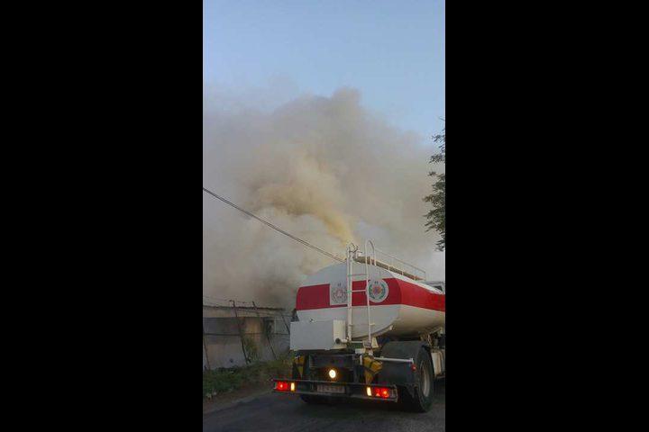 إصابات في حريق ضخم في متنزه بأريحا (فيديو-صور)