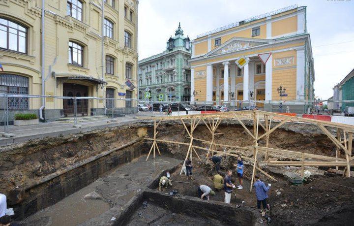 علماء يعثرون على آثار تعود للحقبة الإمبراطورية في موسكو