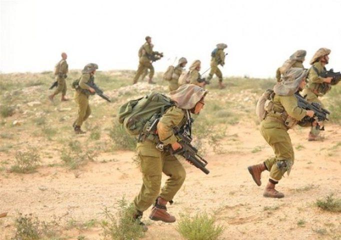 تدريب عسكري إسرائيلي يمتد من النقب الى ايلات
