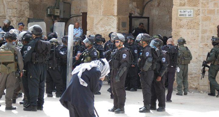 مواطنون يتصدون لاعتداءات المستوطنين في القدس القديمة