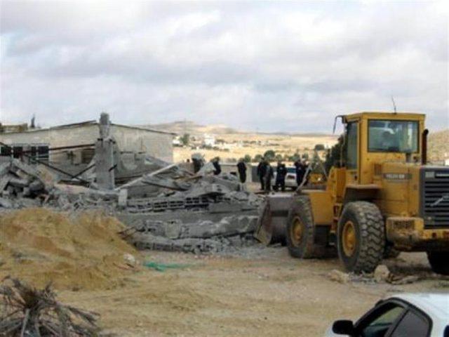 الاحتلال يهدم قرية العراقيب للمرة الـ 116