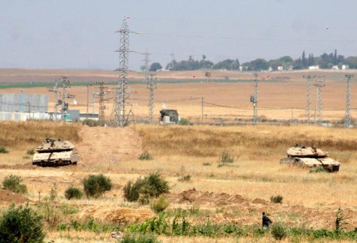 آليات الاحتلال تتوغل شمال قطاع غزة