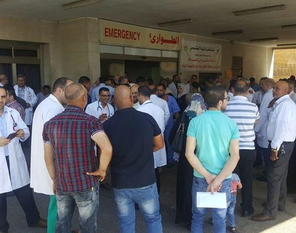 عدد من المعتدين على مستشفى الرازي يسلمون أنفسهم