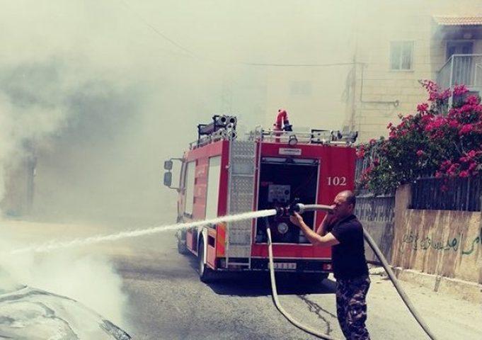 الدفاع المدني يتعامل مع 32 حادث إطفاء وإنقاذ