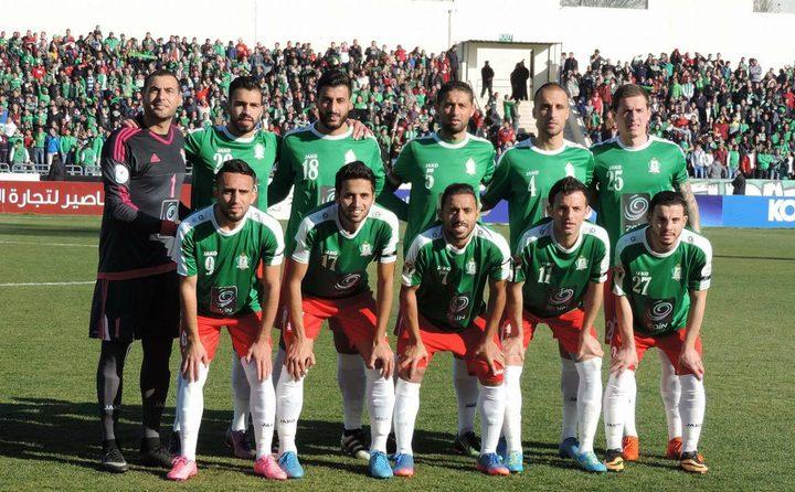 فريق الوحدات يلعب في فلسطين مساء اليوم
