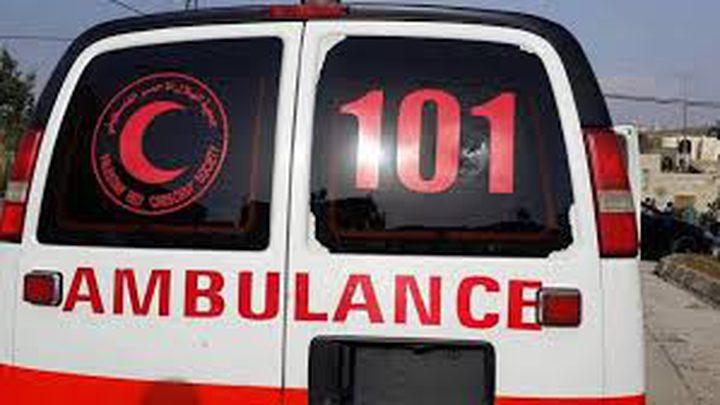 إصابة مواطنة في نابلس