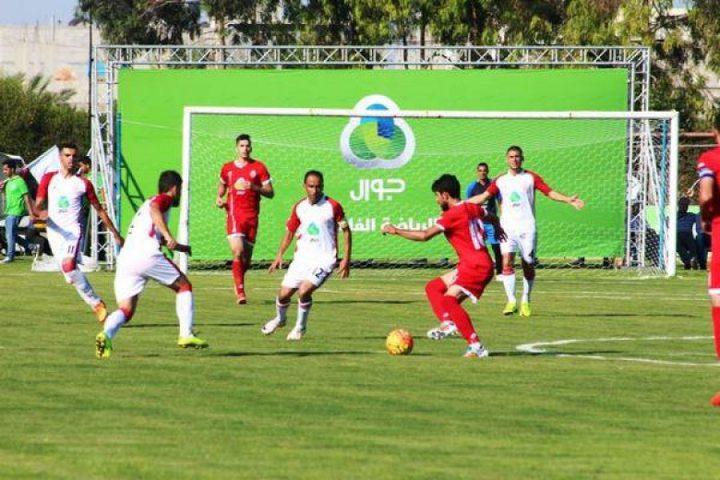 بدء مباراة نهائي كأس فلسطين بين شباب رفح وأهلي الخليل