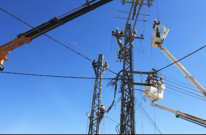 تشويشات على التيار الكهربائي في نابلس غدا