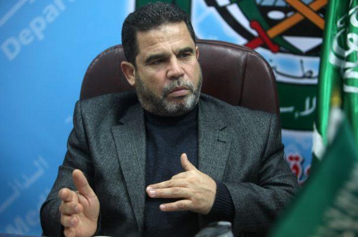 حماس: مستعدون لإنهاء اللجنة الحكومية فور استلام الحكومة مهامها بغزة