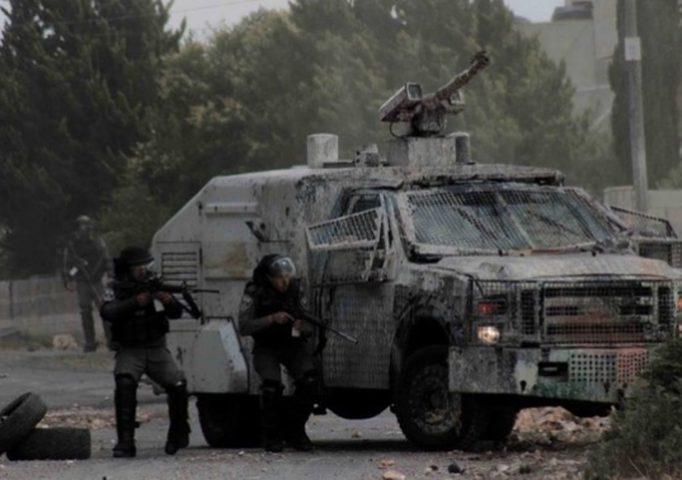 الاحتلال يدخل شاحنة متعددة المهام لقمع المظاهرات