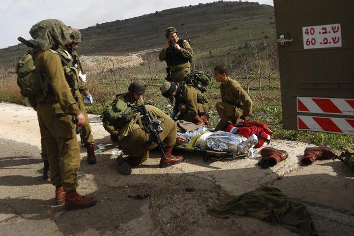اصابة جندي اسرائيلي أثناء تدريب عسكري