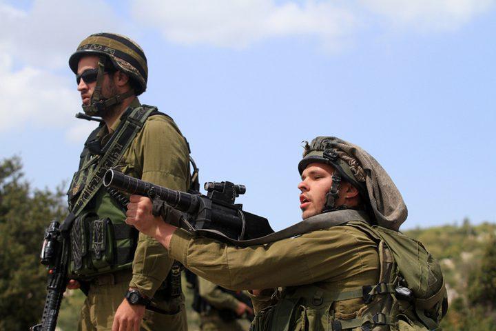 الاحتلال يغلق المدخل الرئيس لقرية وادي فوكين غرب بيت لحم