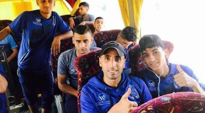 الاحتلال يمنع10 من لاعبي شباب رفح التوجه الى الخليل