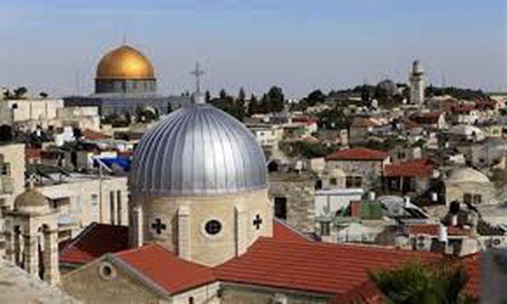 التفكجي: الكنيسة الأرثوذكسية تمتلك 33%من مساحة القدس القديمة