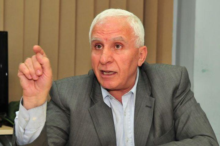 الأحمد: إنهاء الانقسام يبدأ بحل اللجنة الإدارية بغزة