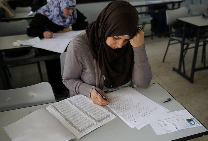قائمة نتائج علامات اختبار التوظيف في التربية والتعليم بنابلس