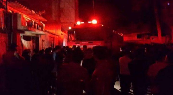 اطفائية بلدية نابلس توضح سبب الحريق الذي اندلع فجر اليوم