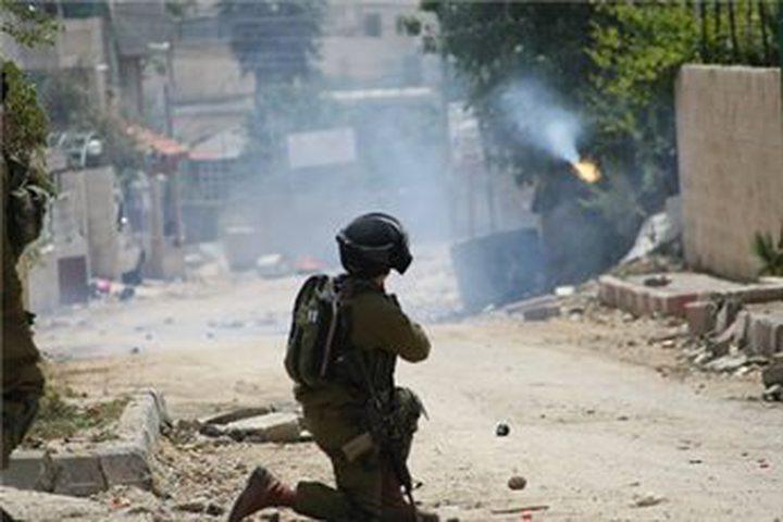 مواجهات مع الاحتلال في سيلة الظهر