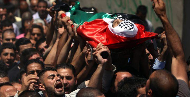 الاحتلال يسلم جثامين أربعة شهداء