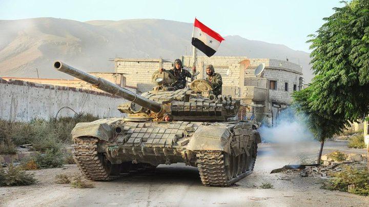 """الجيش السوري يستعيد السخنة من """"داعش"""""""