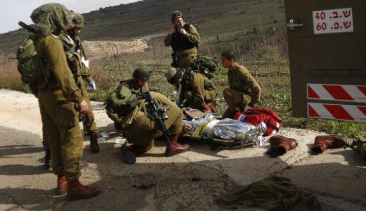 اصابة جندي خلال تدريب في النقب