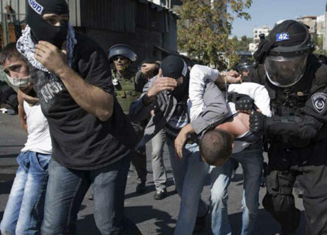 اعتقال ثلاثة مواطنين في القدس