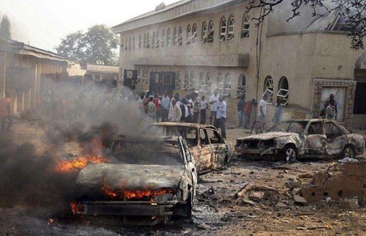 مقتل 10 أشخاص إثر هجوم مسلح على كنيسة في نيجيريا