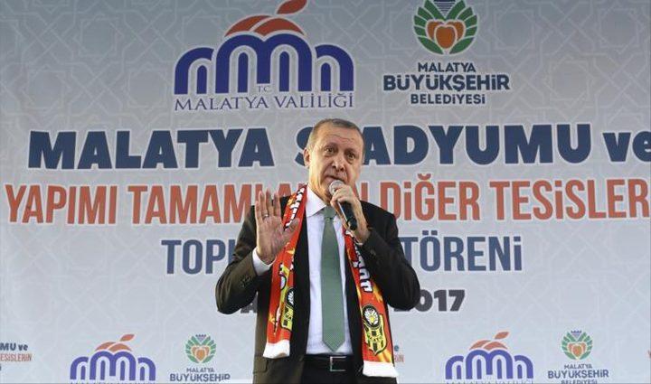 أردوغان: تركيا ستوسع قريباً عملية درع الفرات