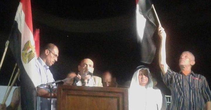 الآلاف في غزة يتضامنون مع مصر