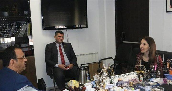 النائب العام يبحث سبل التعاون مع المعهد القضائي ونقابة الاطباء
