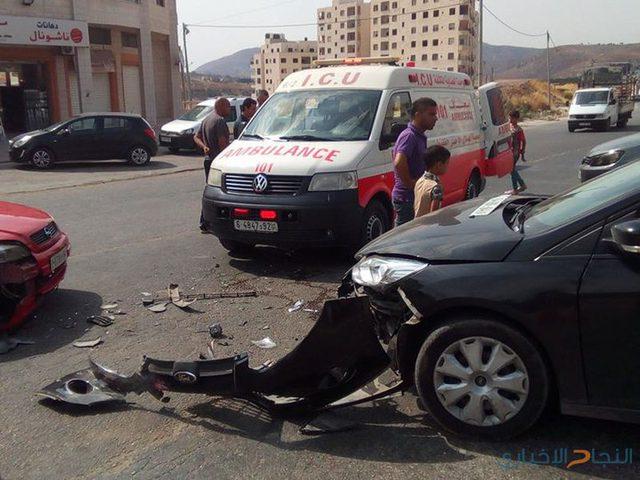 """إصابة فلسطيني وإسرائيلي بحادث سير قرب """"معاليه أدوميم"""""""
