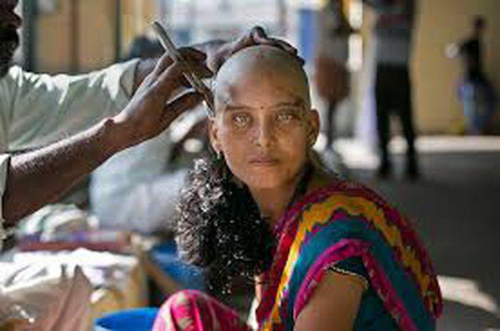 أشباح وساحرات سبب قص شعر السيدات في الهند